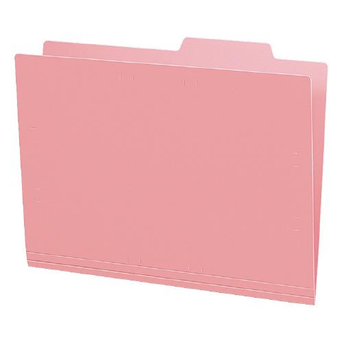 個別フォルダーA4(カラー・PP製) ピンク 5冊パック [A4-IFH-P]