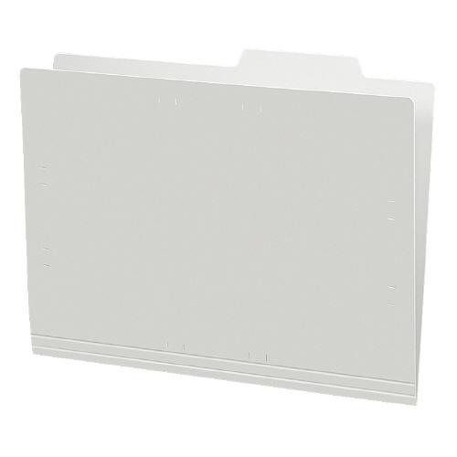個別フォルダーA4(カラー・PP製) グレー 5冊パック [A4-IFH-M]