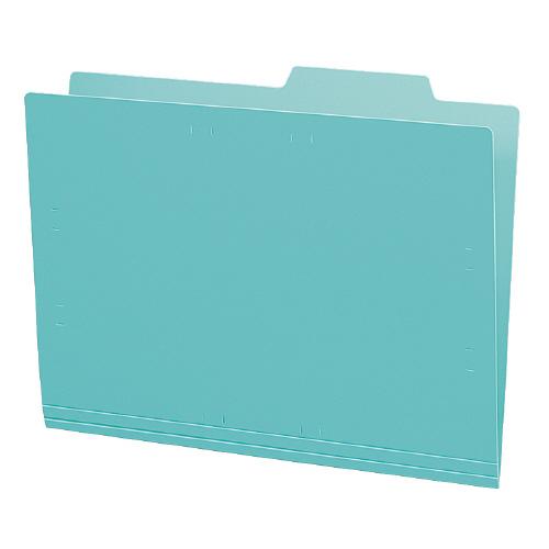 個別フォルダーA4(カラー・PP製) 緑 5冊パック [A4-IFH-G]