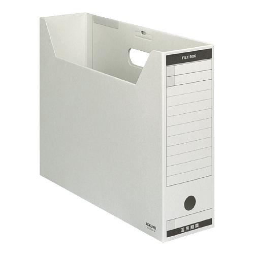 ファイルボックス-FS<Bタイプ>B4 グレー [B4-LFBN-M]