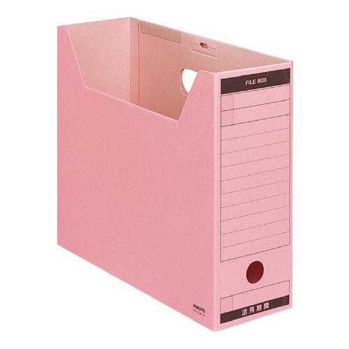 ファイルボックス-FS<Bタイプ>A4 ピンク [A4-LFBN-P]