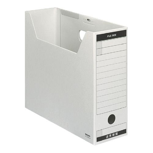 ファイルボックス-FS<Bタイプ>A4 グレー [A4-LFBN-M]