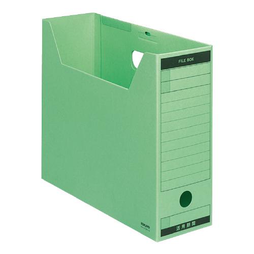 ファイルボックス-FS<Bタイプ>A4 緑 [A4-LFBN-G]
