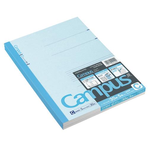 キャンパスノート セミB5 C罫 5冊パック [ノ-3CNX5]