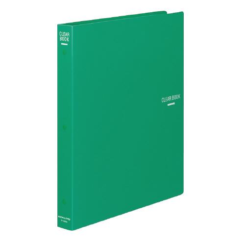 クリヤーブック(替紙式) A4 23P 緑 [ラ-460G]