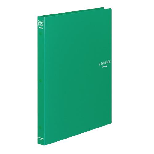 クリヤーブック(替紙式) A4 18P 緑 [ラ-320G]