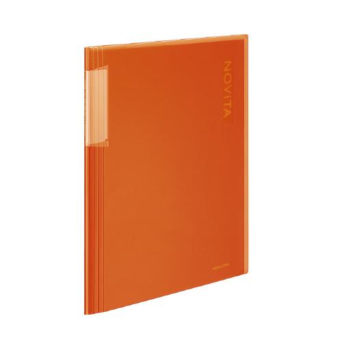 クリヤーブック<ノビータ> A4 20P オレンジ [ラ-N20YR]