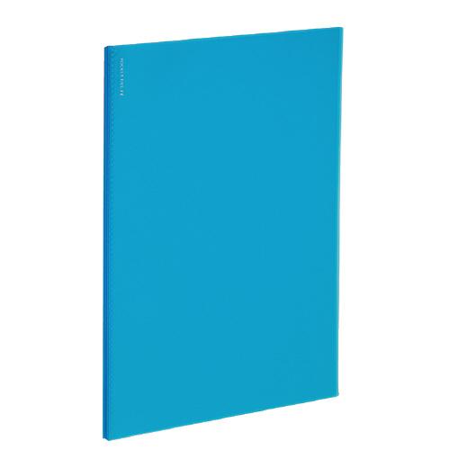 ポケットファイルα<ノビータα> A4 24P ライトブルー [ラ-NF24LB]