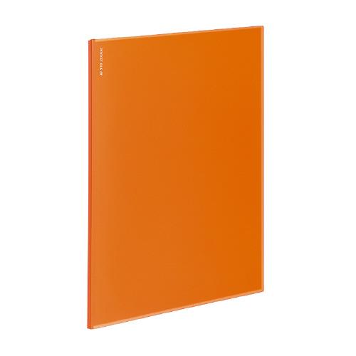 ポケットファイルα<ノビータα> A4 12P オレンジ [ラ-NF12YR]