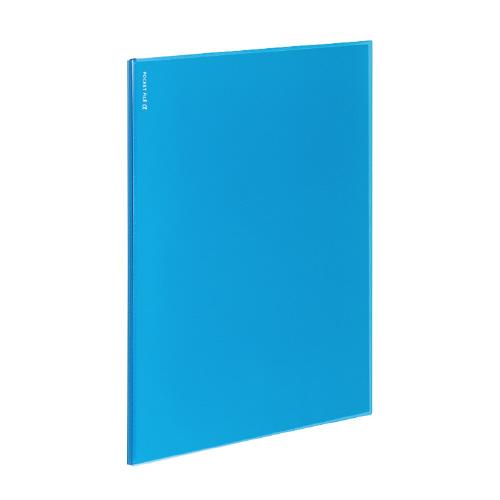 ポケットファイルα<ノビータα> A4 12P ライトブルー [ラ-NF12LB]
