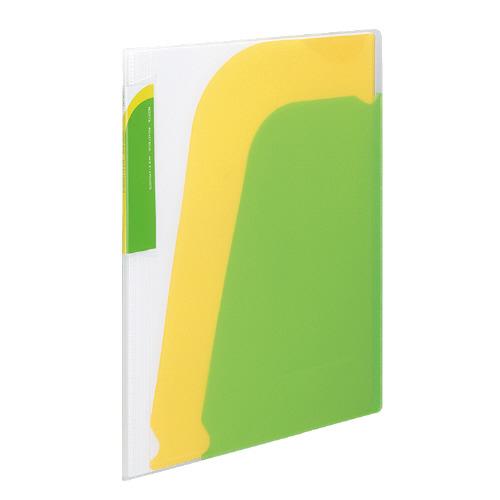 ポケットブック<ノビータ> A4 ライトグリーン [ラ-N210LG]