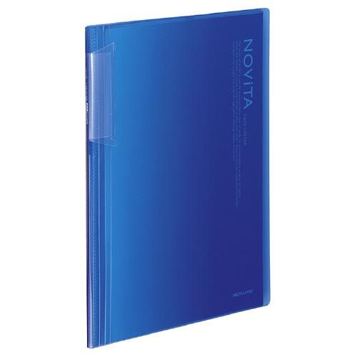 カードホルダー<ノビータ> A4タイプ ブルー [メイ-N260B]