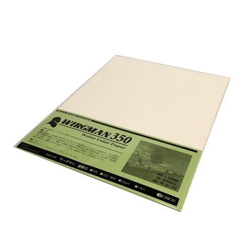 ワーグマン水彩紙(超厚口・350g)F6パック[5枚入]