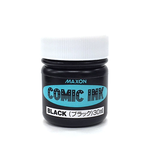 マクソン コミックインク[水性]ブラック30ml