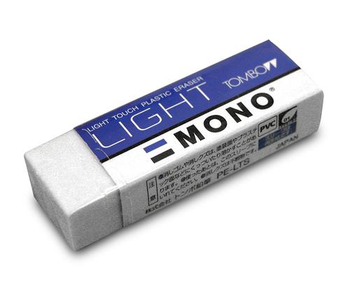 トンボ モノ消しゴム[ライト]PE-LTS