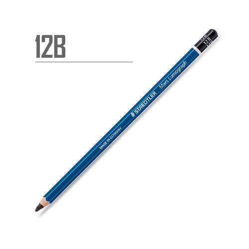ステッドラー マルスルモグラフ製図用鉛筆 12B