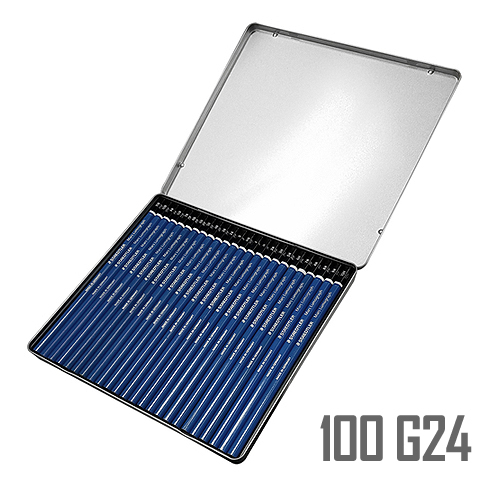 ステッドラー マルスルモグラフ製図用鉛筆 24硬度セット(100 G24)