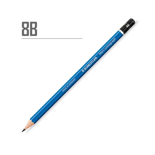 ステッドラー マルスルモグラフ製図用鉛筆 8B