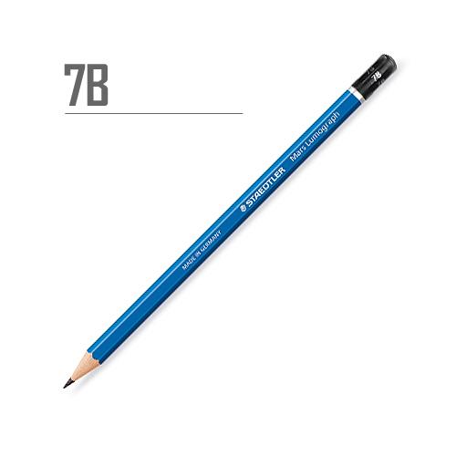ステッドラー マルスルモグラフ製図用鉛筆 7B