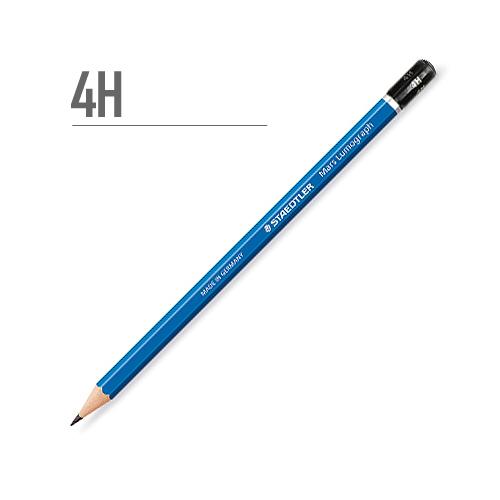 ステッドラー マルスルモグラフ製図用鉛筆 4H