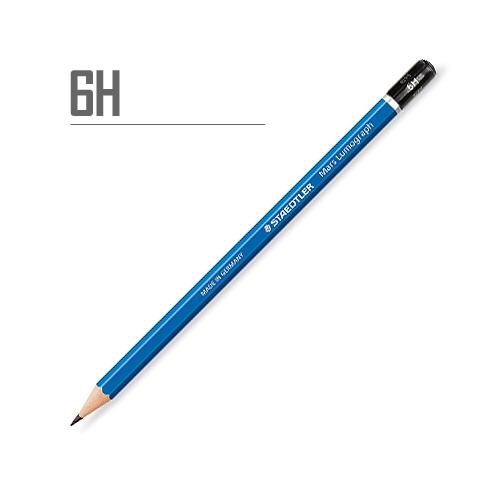ステッドラー マルスルモグラフ製図用鉛筆 6H