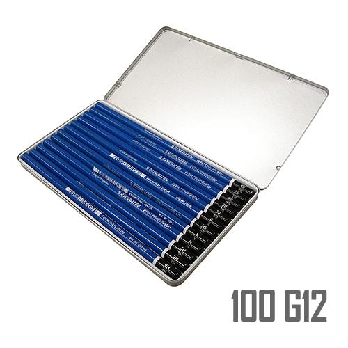 ステッドラー マルスルモグラフ製図用鉛筆 12硬度セット(100 G12)
