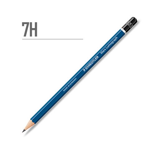 ステッドラー マルスルモグラフ製図用鉛筆 7H