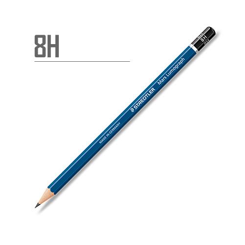 ステッドラー マルスルモグラフ製図用鉛筆 8H