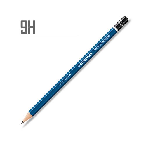 ステッドラー マルスルモグラフ製図用鉛筆 9H
