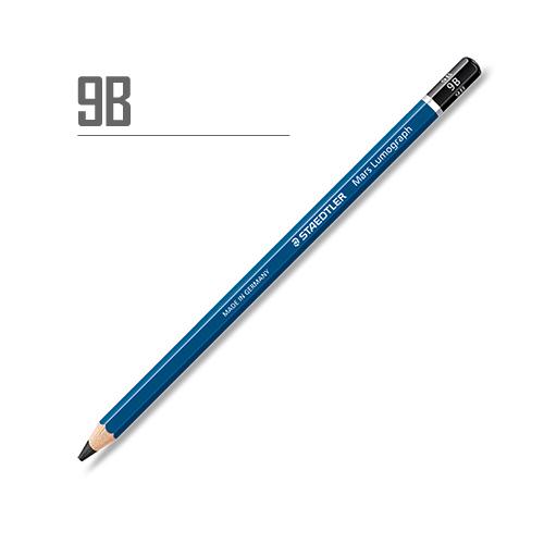 ステッドラー マルスルモグラフ製図用鉛筆 9B