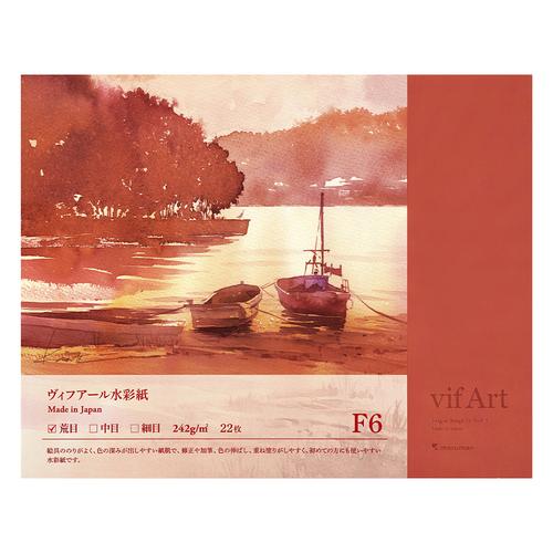マルマン ヴィフアールブロック【荒目】F6(B16VA)