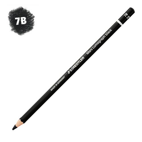 ステッドラー マルスルモグラフ【ブラック】描画用鉛筆 7B