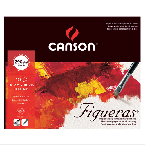 キャンソン フィゲラス パッド 380×460mm[857-223]