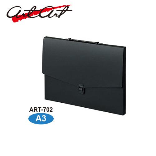 セキセイ アルタートケース A3[フラット]ブラック(ART-702-BK)