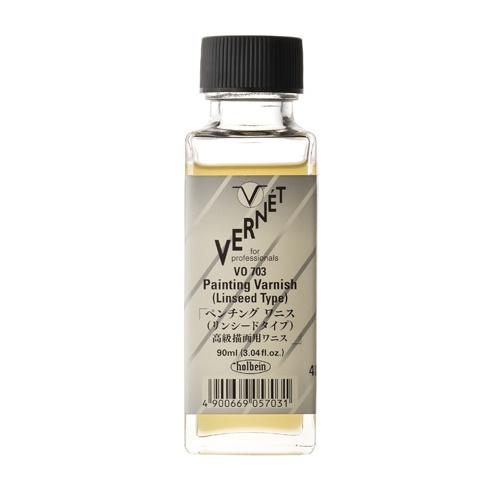 ホルベイン ヴェルネ画用液 ペンチングワニス[リンシードタイプ]90ml(VO703)