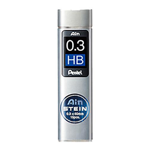 ぺんてる シャープ替芯 アインシュタイン[0.3mm]HB