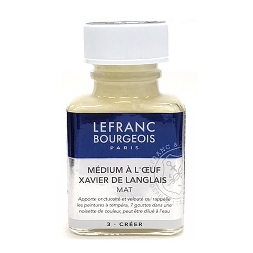 ルフラン 画用液 グザビエドラングレエッグメディウム 75ml (※)