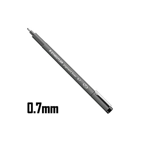 ステッドラー ピグメントライナー 0.7mm