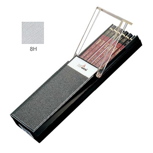三菱 ハイユニ鉛筆 8H【ダース】
