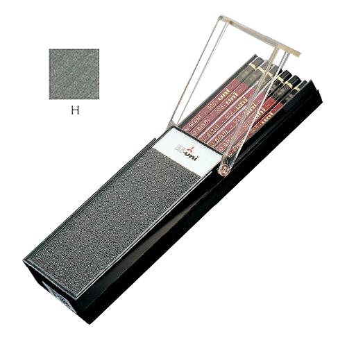 三菱 ハイユニ鉛筆 H【ダース】