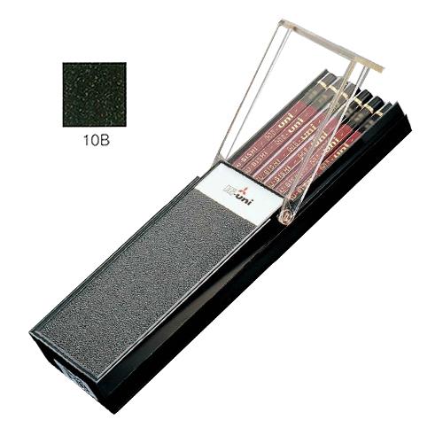 三菱 ハイユニ鉛筆 10B【ダース】