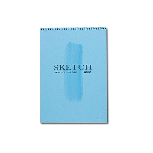 ミューズ SCブック B5(SC-9055)ブルー表紙