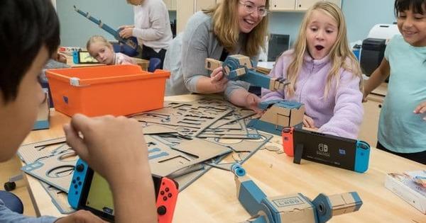 アメリカの100の学校にNintendo Laboを教育目的で配布 楽しく学べてSTEAM教育が捗りそう