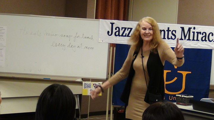 "★ Jazz Chants Miracle 2014 (since 2008) ★  Stimulate Your Students with ""Jazz Chants"""