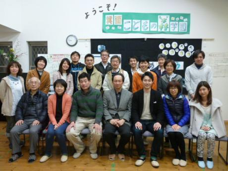 第28回 教育カフェマラソン 話題提供者;浜田寿美男さん