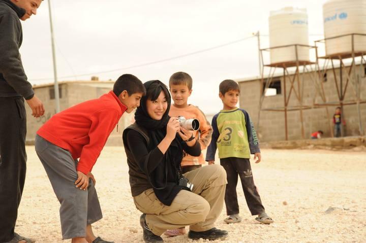 シリア難民の「今」を知る 安田菜津紀 難民キャンプ報告会(映画『それでも僕は帰る』公開記念イベント)