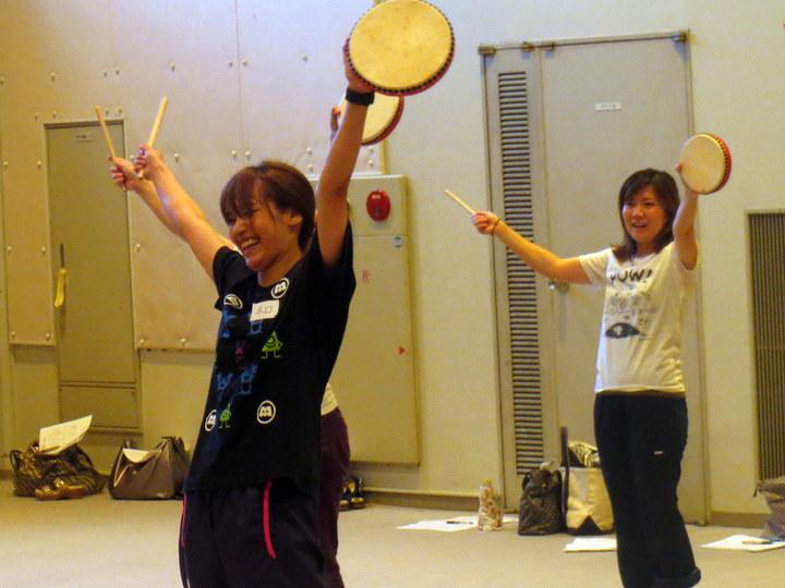 """創作エイサー&鳴子ダンス """" 花城 """" 子どものやる気を引きだすセミナーIN大阪"""