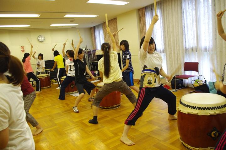 """和太鼓基礎 +""""ぶち合わせ太鼓""""&ボディパとコラボ♪ 子どものやる気を引きだすセミナーIN大阪"""