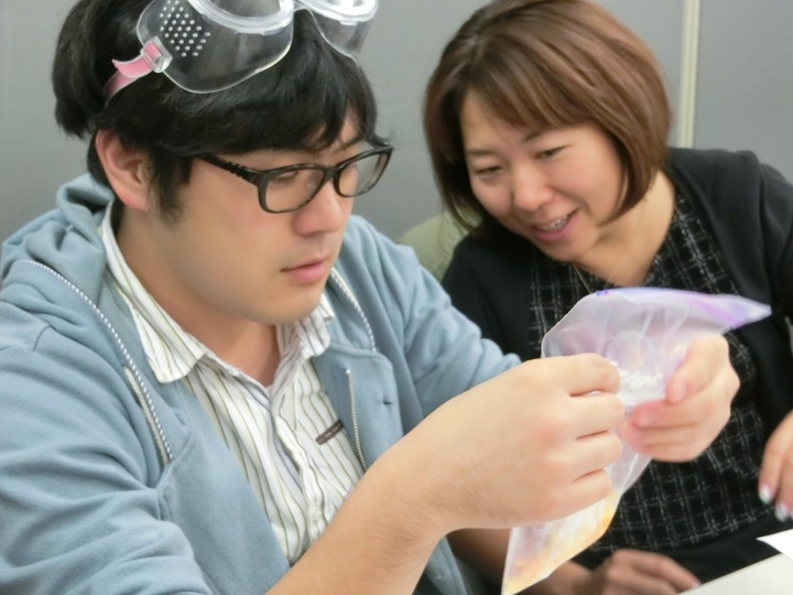 GEMS Cafe 26「化学反応~対照実験をデザインする」