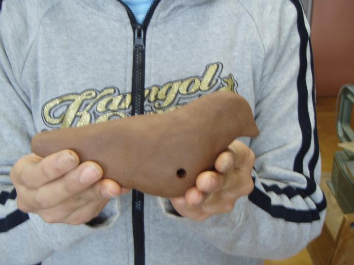 粘土でつくろう!! 幼児のねんどあそびから ハト笛作りまで 美術教育を進める会東京サークル6月例会